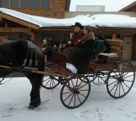 Scenic Sleigh Rides In Steamboat Springs, CO